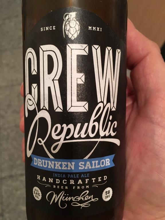 Crew Republic – Drunken Sailor IPA